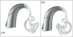 耳背式助听器的清洁和保养