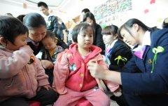 """贵州通跃汽车组织开展""""关爱声障儿童""""志愿活动"""